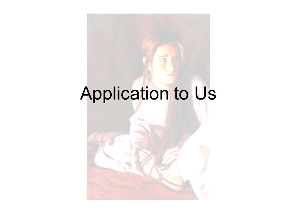 Application to Us
