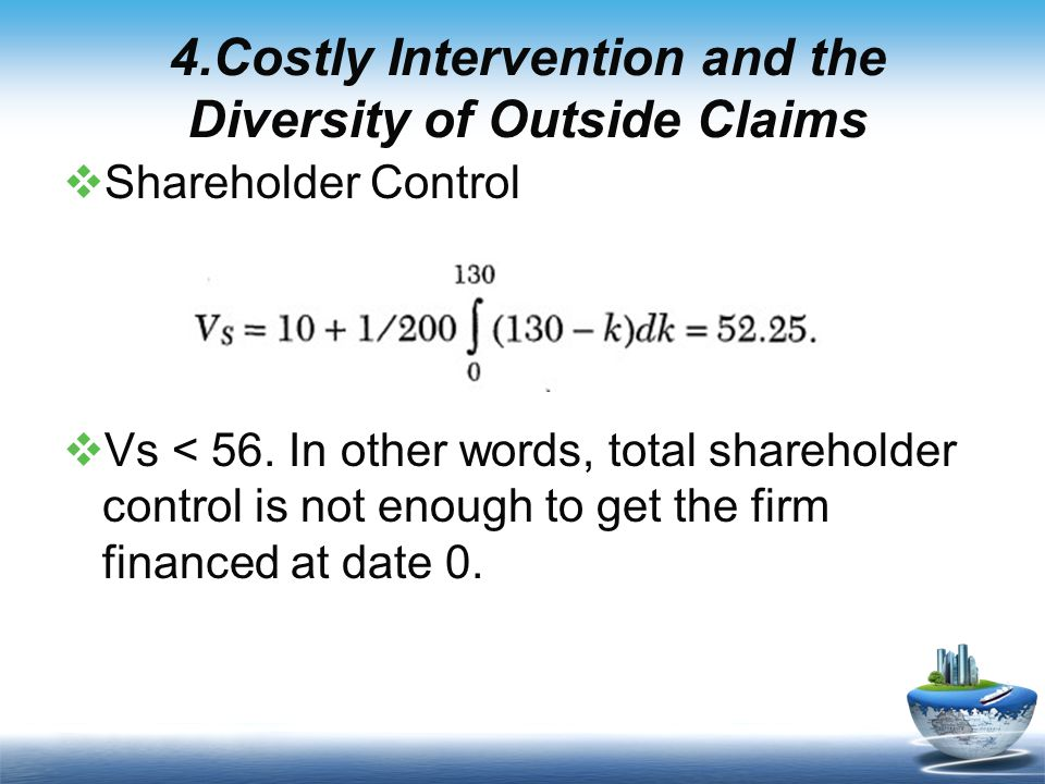  Shareholder Control  Vs < 56.