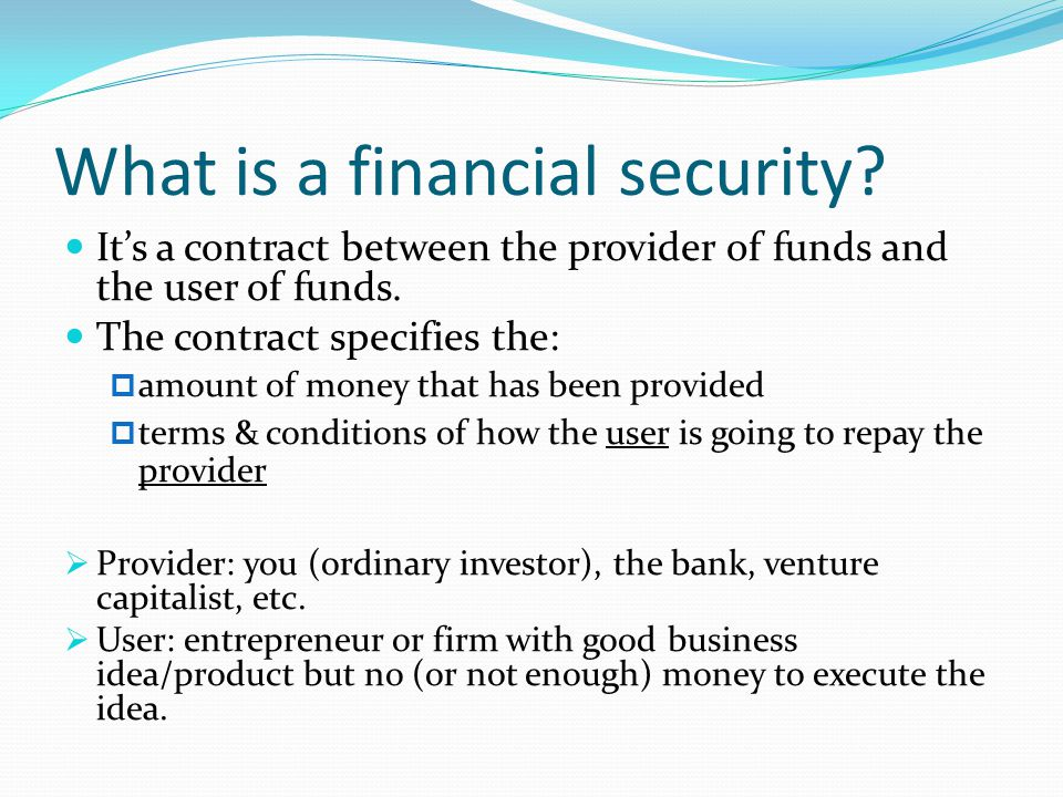 Fixed-coupon bonds Firm pays a fixed amount ('coupon') to the investor every period until bond matures.