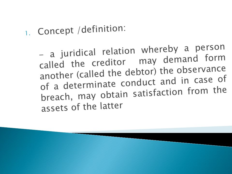  Law  Contracts  Quasi- contracts  Acts or omissions punished by law  Quasi-delicts