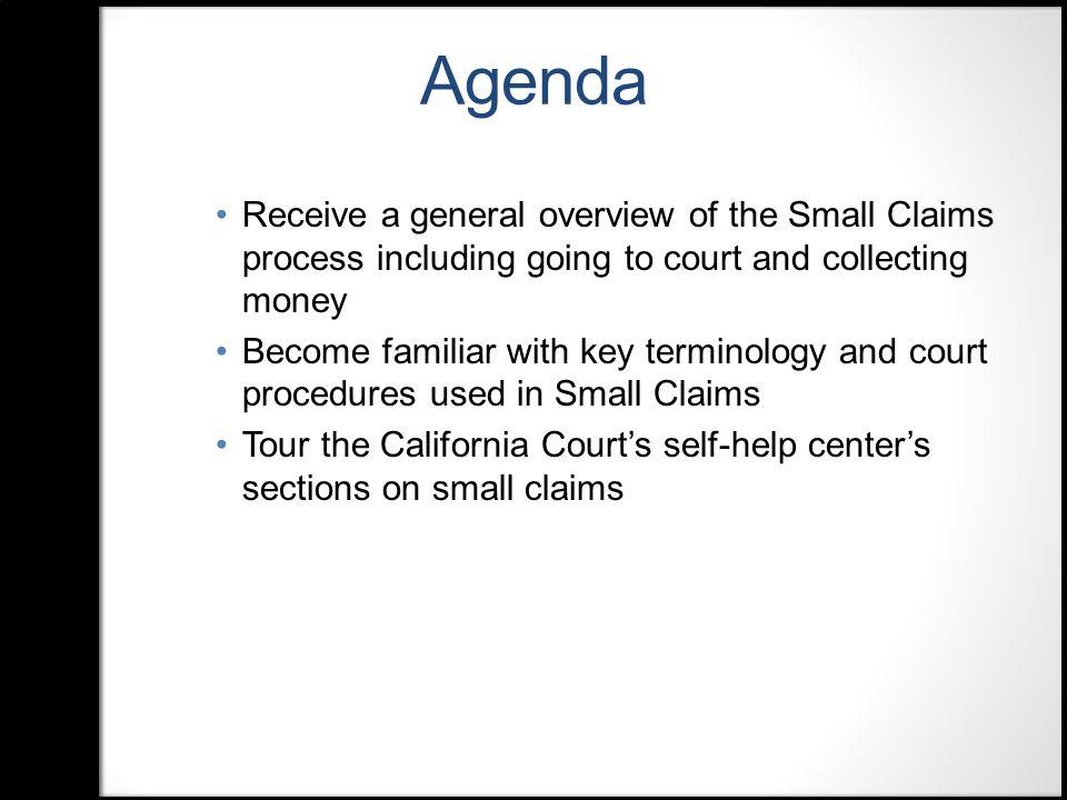 Defendant's Claim (Form SC-120)