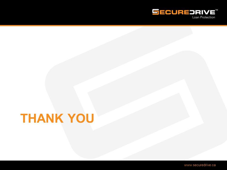 www.securedrive.ca THANK YOU