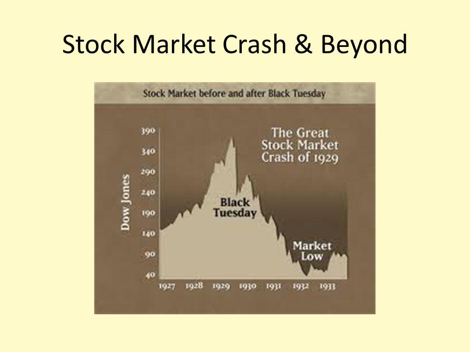 Stock Market Crash & Beyond