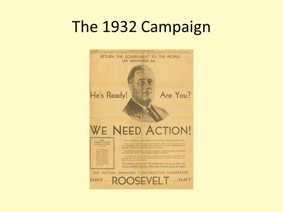 The 1932 Campaign