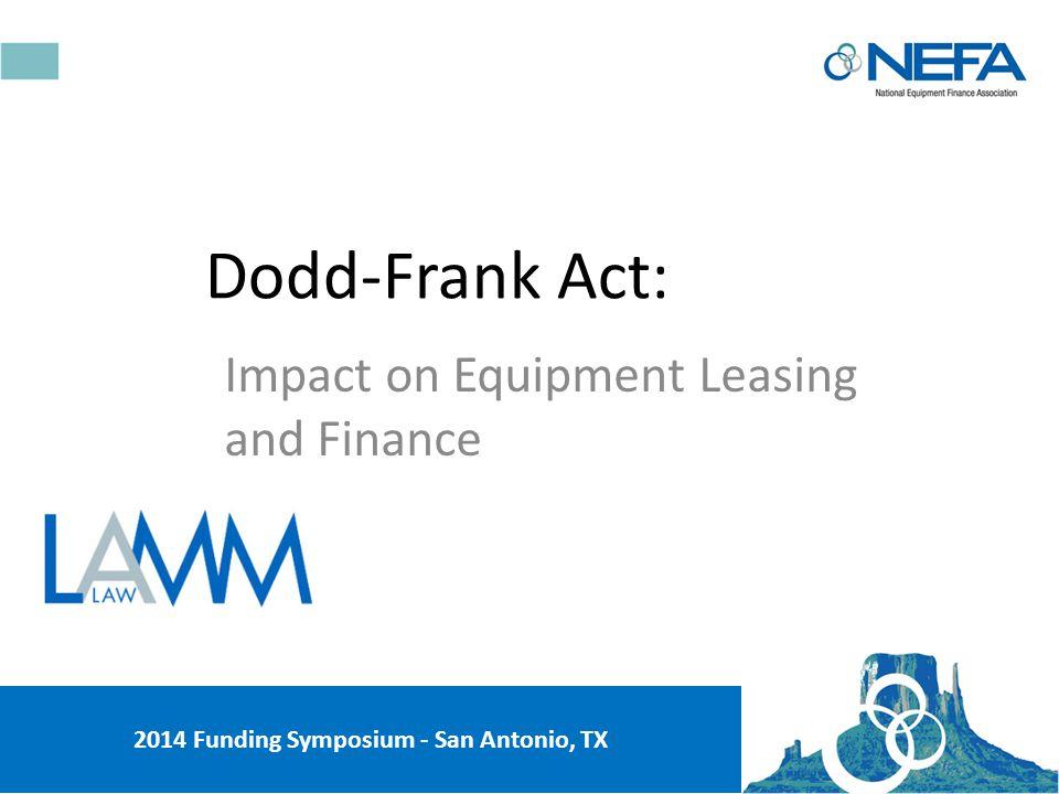 Next up – Dodd-Frank Act © Winston & Winston, P.C.