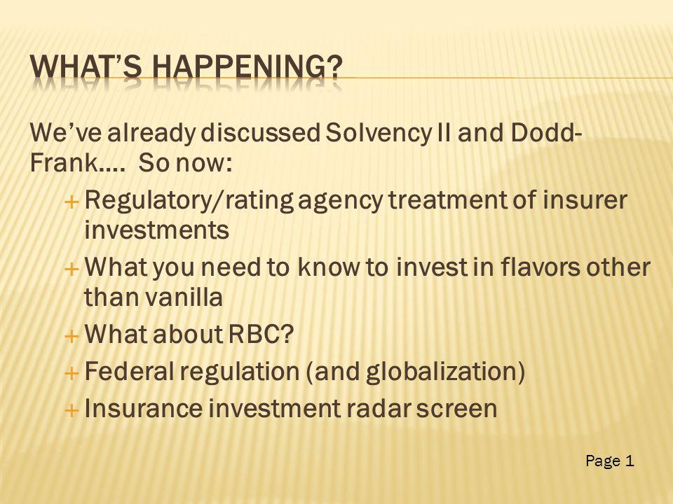  Economics  Regulatory / Rating Agency Page 2