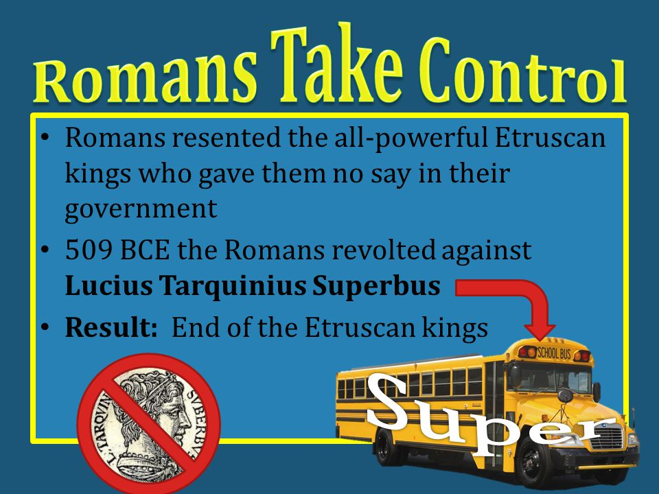 Early kings of Rome – Not much is known as their written works did not survive – Who were they.