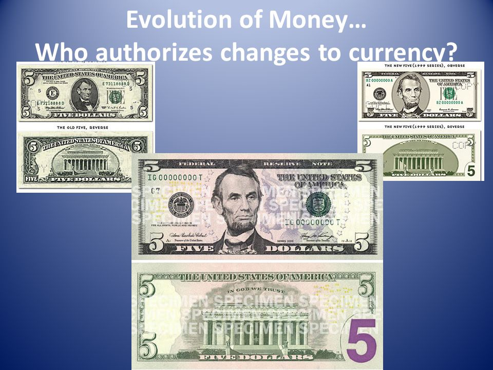 Currency Power Congress has the power to coin Money and regulate the Value thereof. – States are denied power Congress created a national paper currency, legal tender in 1863.