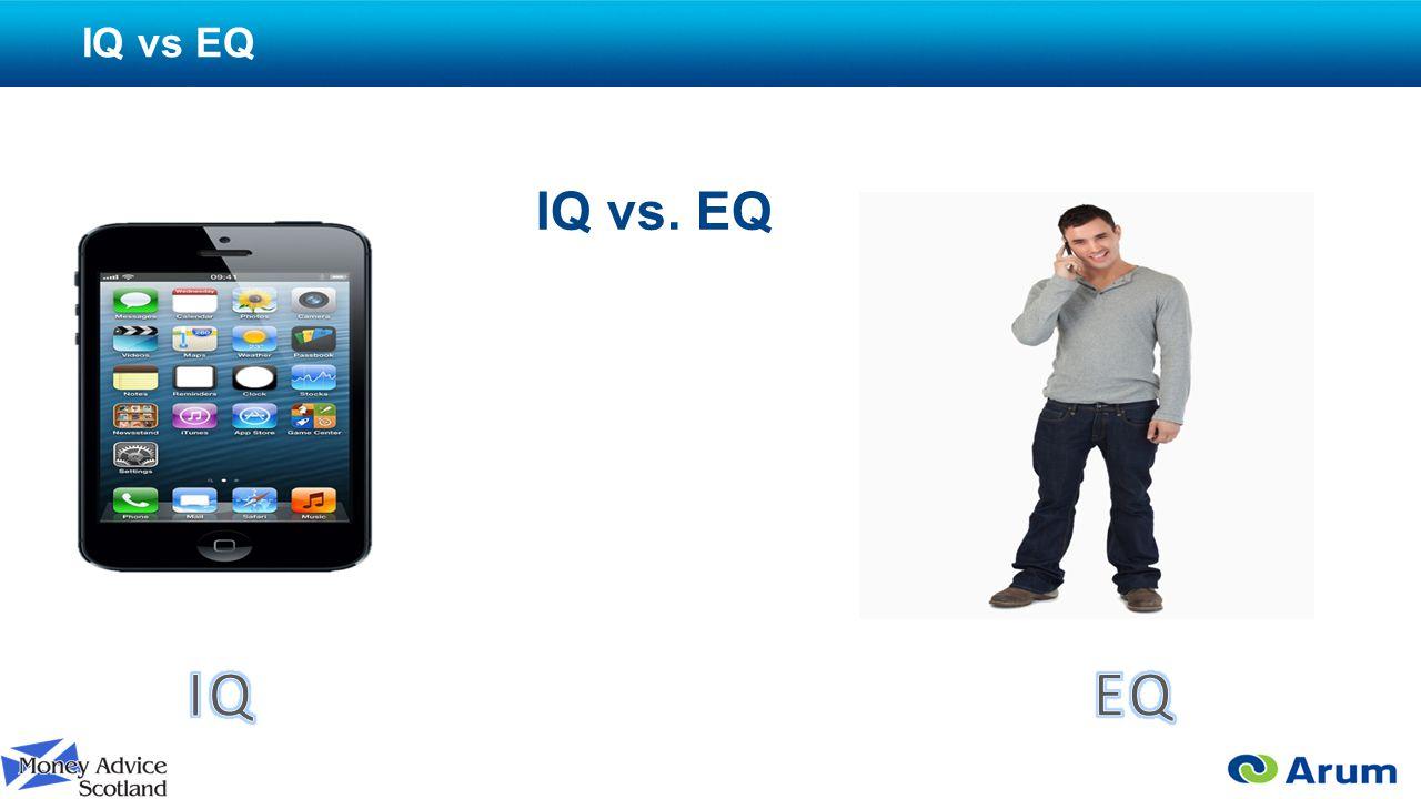 IQ vs EQ IQ vs. EQ