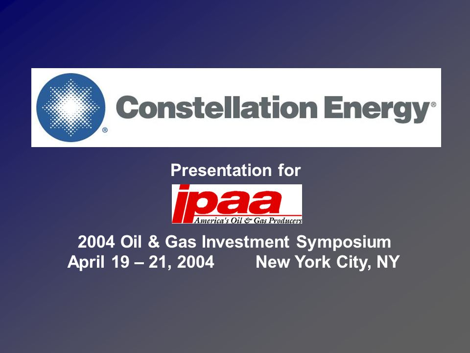Who is Constellation Energy.