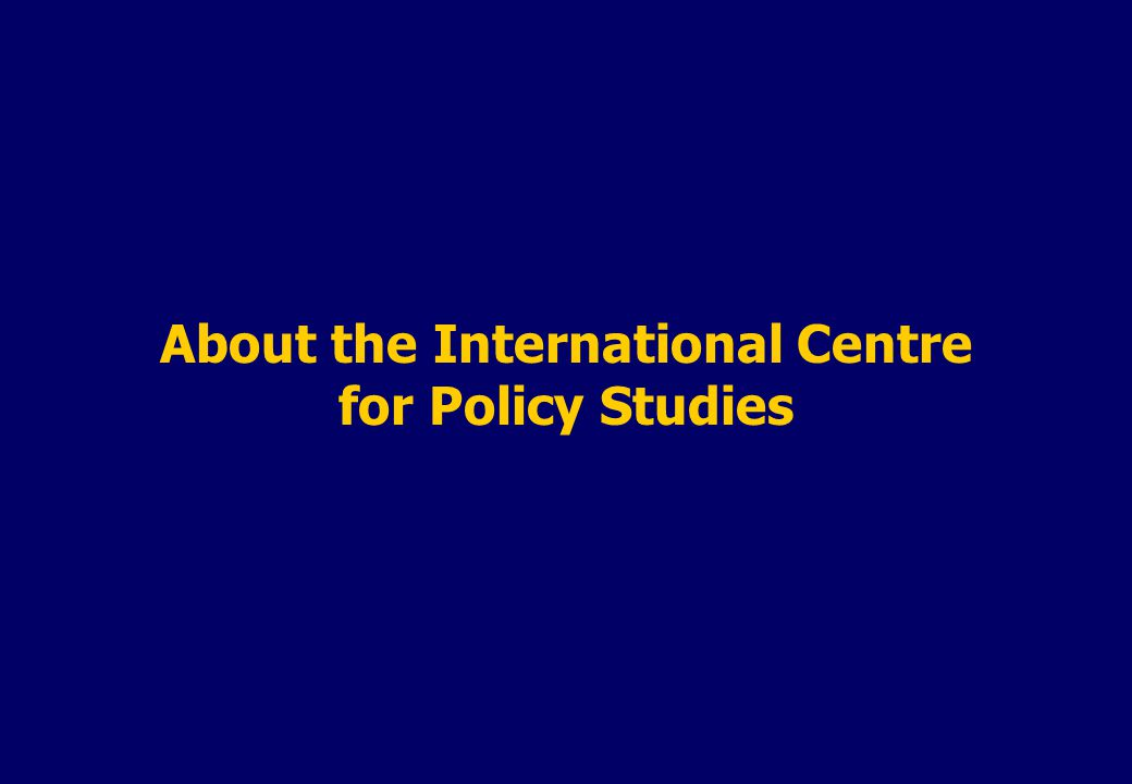 Political Environment and Reforms