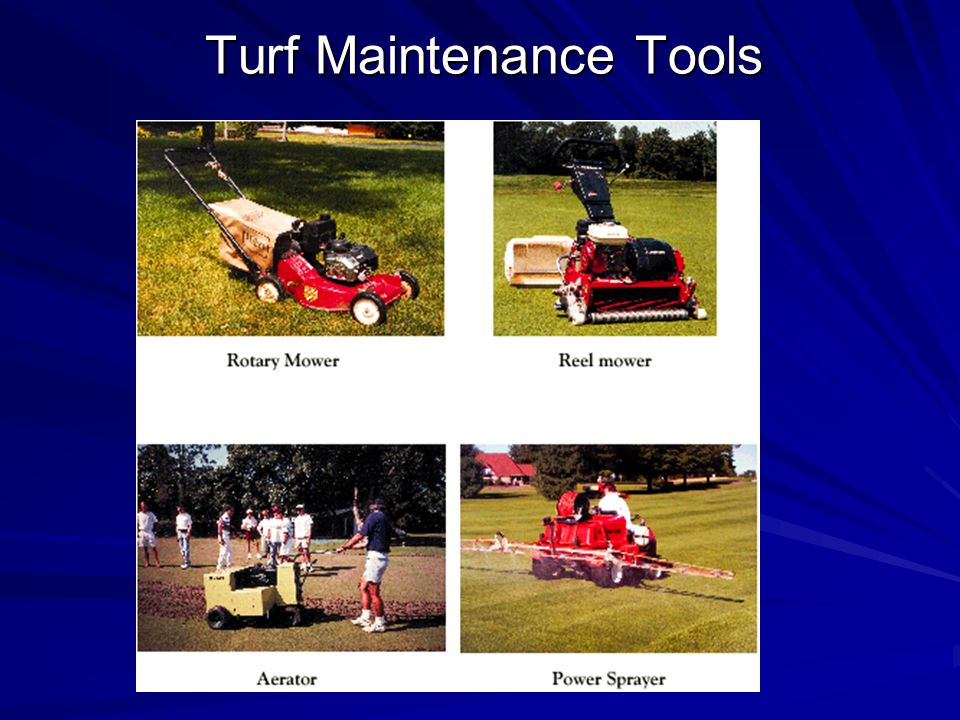 Turf Maintenance Tools