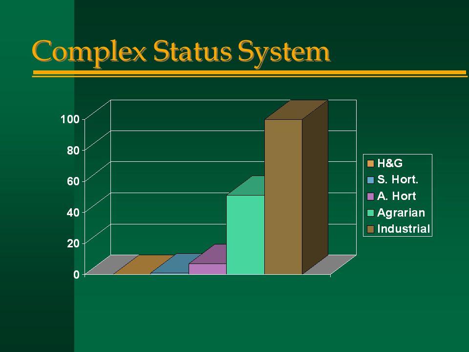 Complex Status System