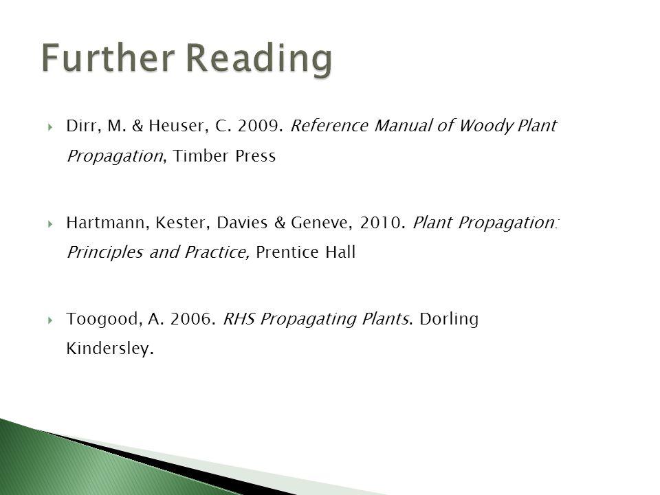  Dirr, M. & Heuser, C. 2009.