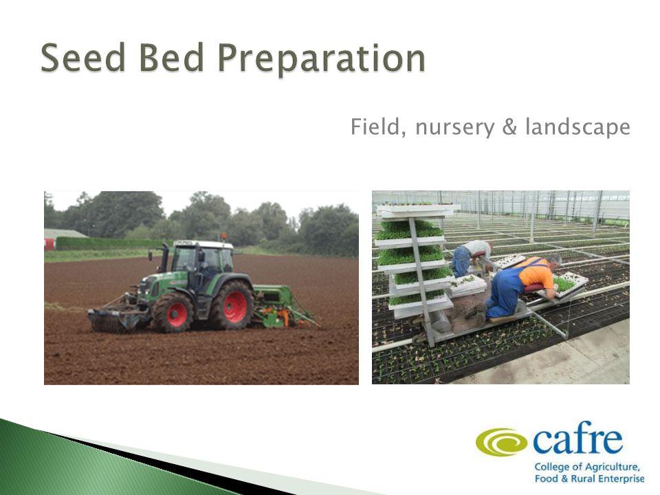 32 Field, nursery & landscape