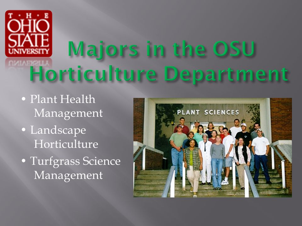 Plant Health Management Landscape Horticulture Turfgrass Science Management