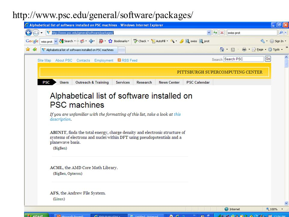 http://www.psc.edu/general/software/packages/