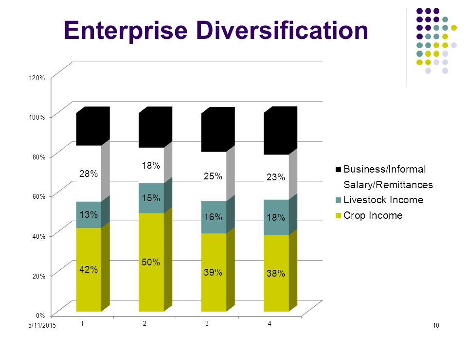 5/11/201510 Enterprise Diversification