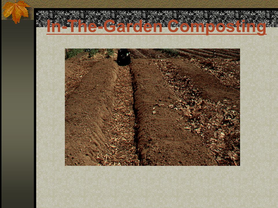 In-The-Garden Composting