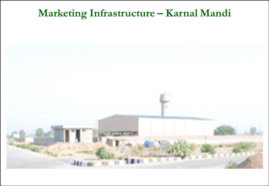 35 Marketing Infrastructure – Karnal Mandi