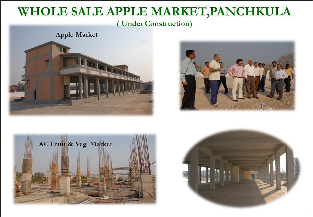 36 WHOLE SALE APPLE MARKET,PANCHKULA ( Under Construction) AC Fruit & Veg. Market Apple Market