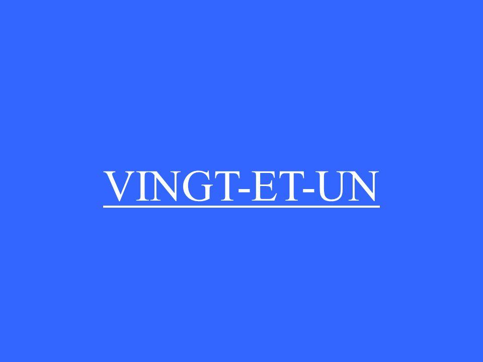 VINGT-ET-UN