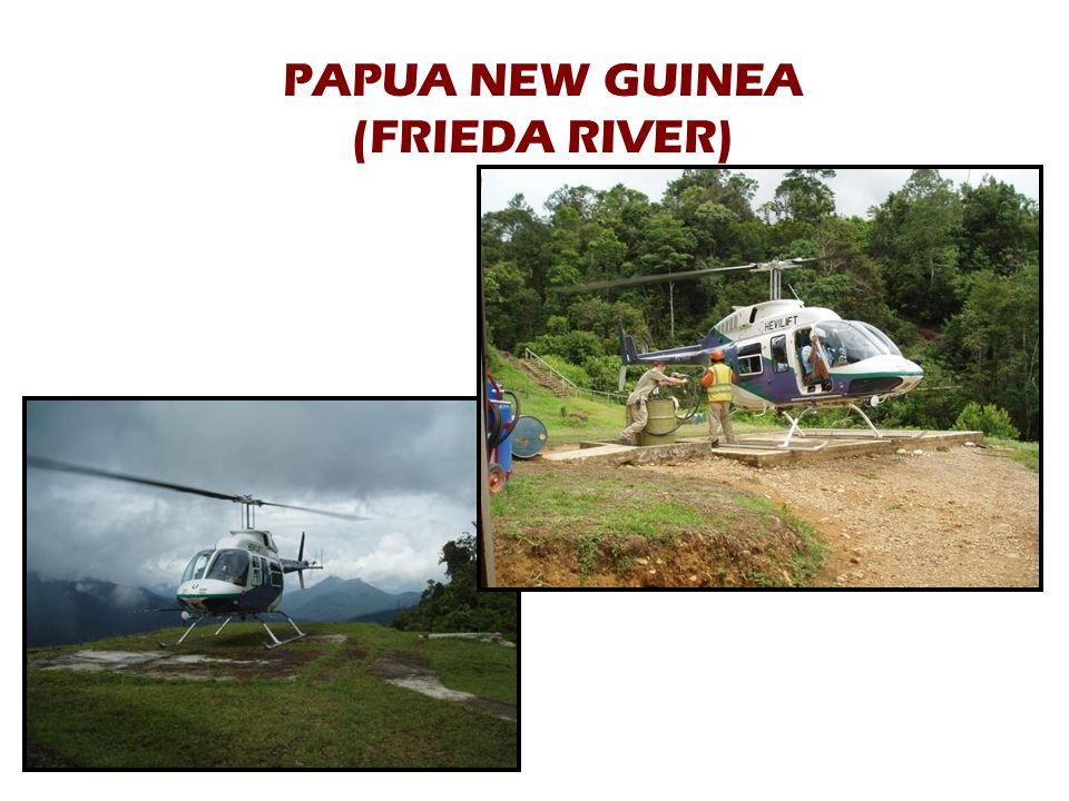 PAPUA NEW GUINEA (FRIEDA RIVER)