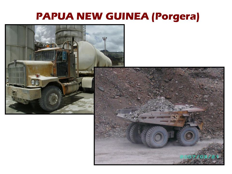 PAPUA NEW GUINEA (Porgera)