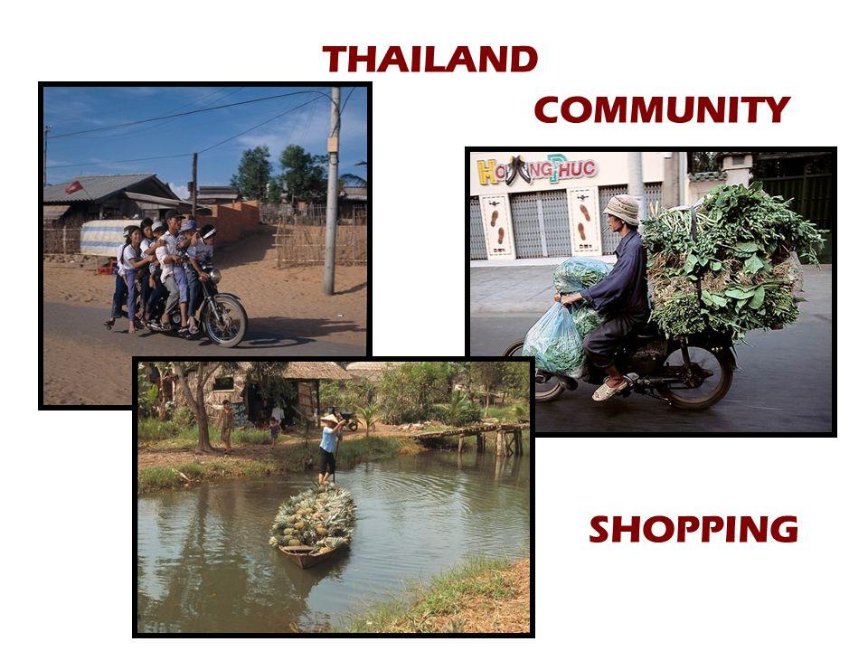 THAILAND COMMUNITY SHOPPING
