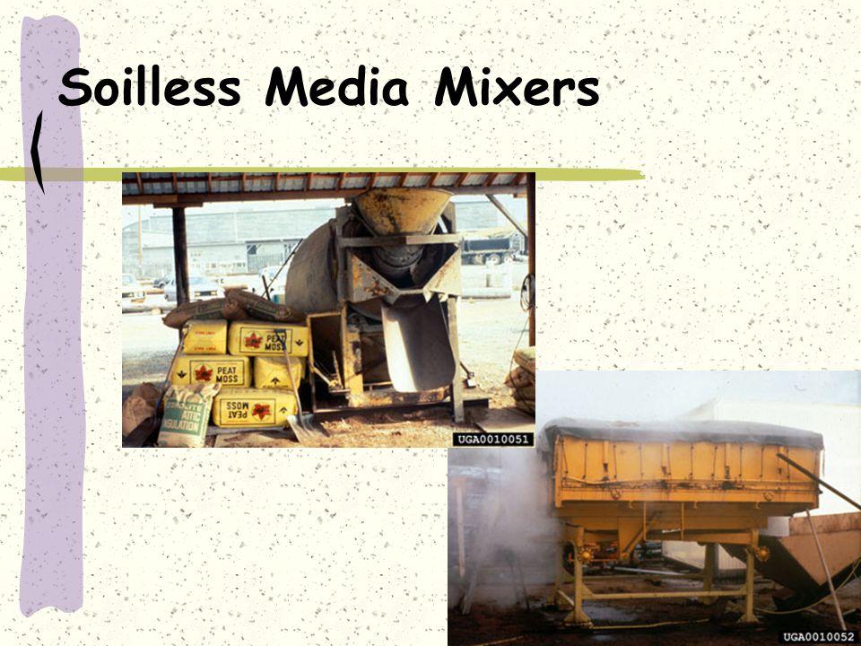 Soilless Media Mixers