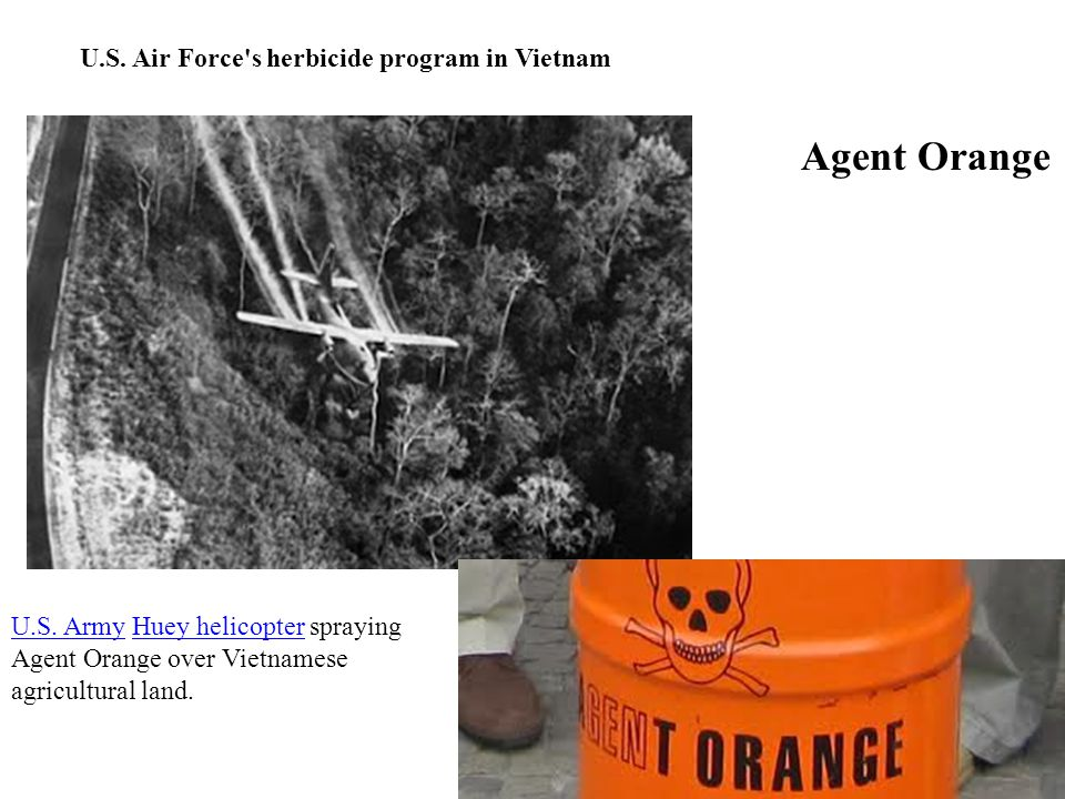 Agent Orange U.S. ArmyU.S.
