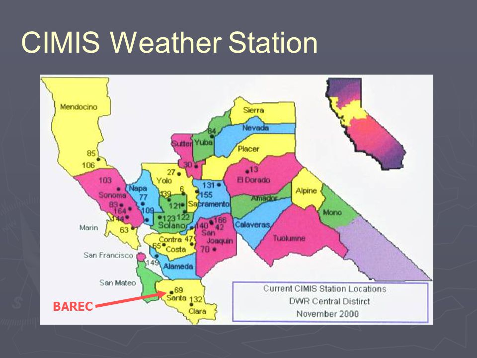 CIMIS Weather Station BAREC