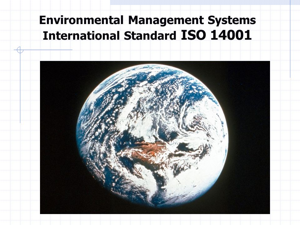 EMS ISO 140001 ACT »Management Review Review