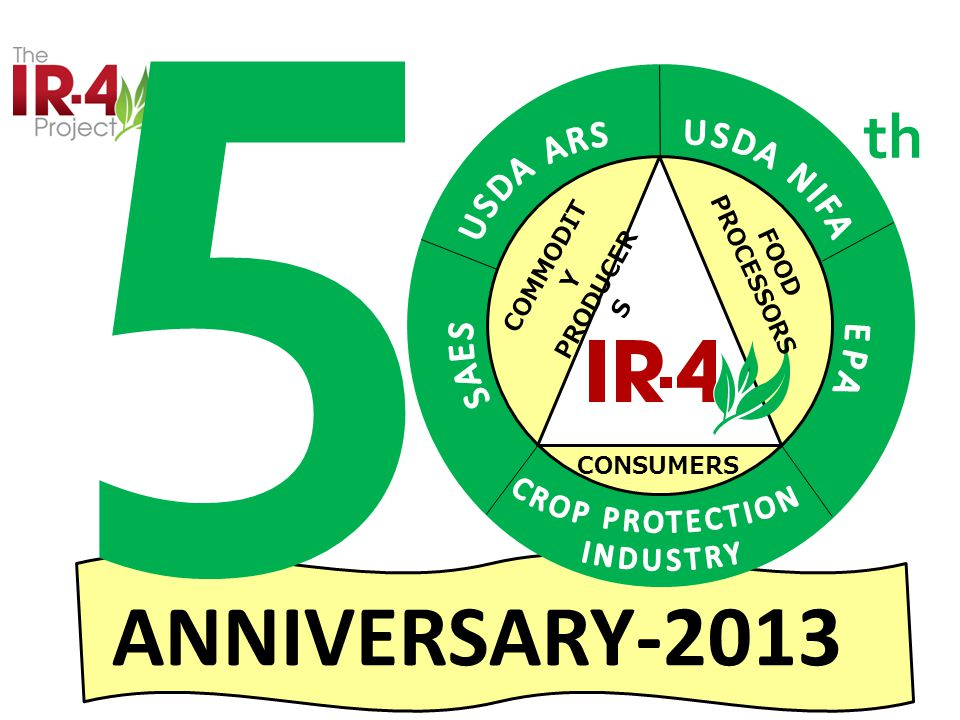 COMMODIT Y PRODUCER S FOOD PROCESSORS CONSUMERS ANNIVERSARY-2013 5 th