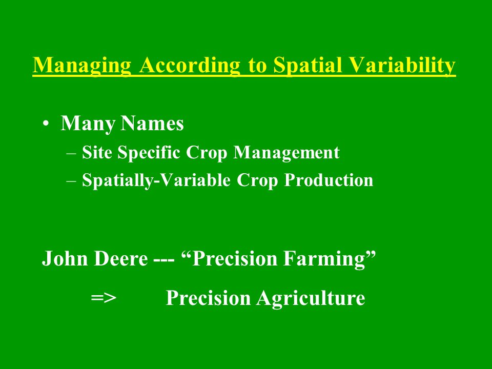 Strategic Responses to Variability Grove and Block Boundaries Landforming and Layout Irrigation Layout Rootstock and Scion Resetting and Abandonment Permanent, One-Time Costs Often Lower Technology