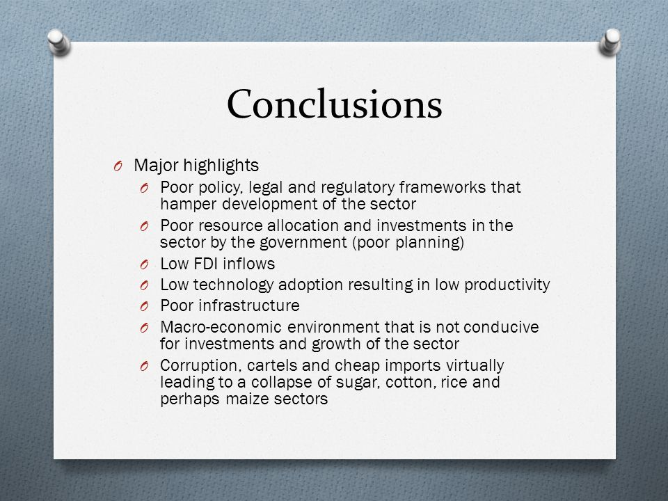 Recommendations O Need to increase resource allocation to a desired level of 10 per cent of government expenditure and a need to review recurrent vs.