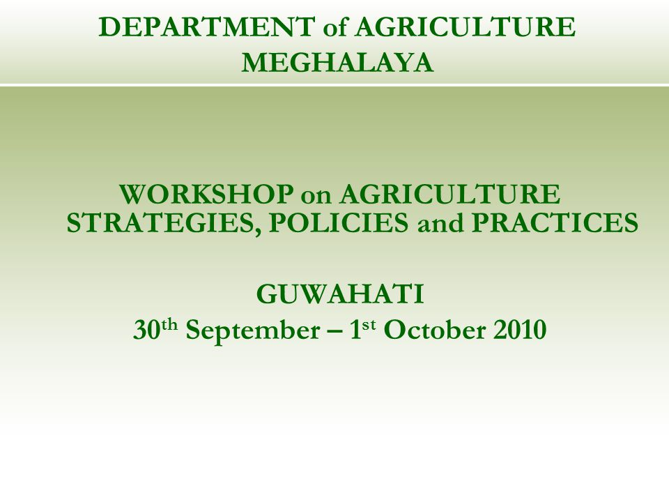 TREYSEFA Training of Rural Educated Youth for Self Employment in Farm-based Activities Foster agricultural entrepreneurship Selection Criteria – Matriculate, possession of own or family land Subjects taught – agriculture, horticulture, animal husbandry, fisheries, accounting, civil engineering, group formation, mechanisation, soil/water conservation Duration - 5 Months; Stipend - Rs.500 per month; Seed Money - Rs.10,000/- Year of inception - 2003-04 ; Youth trained – 400 Success stories – formation of crop-growers association; rentals of machineries; integrated activity