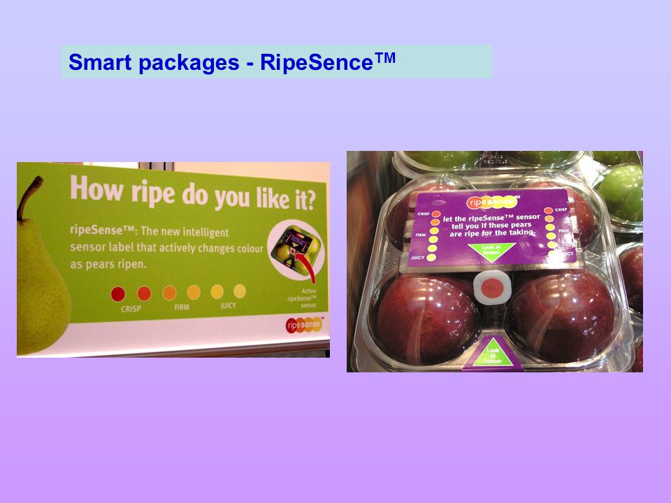 Smart packages - RipeSence TM