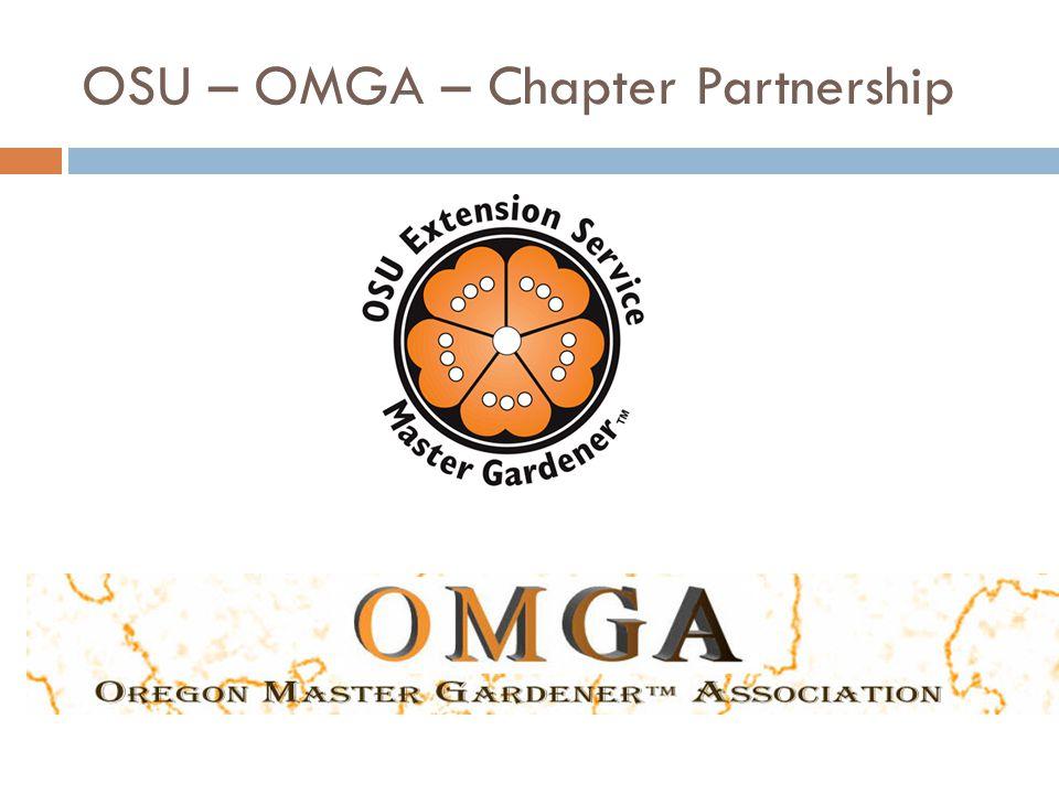 OSU – OMGA – Chapter Partnership