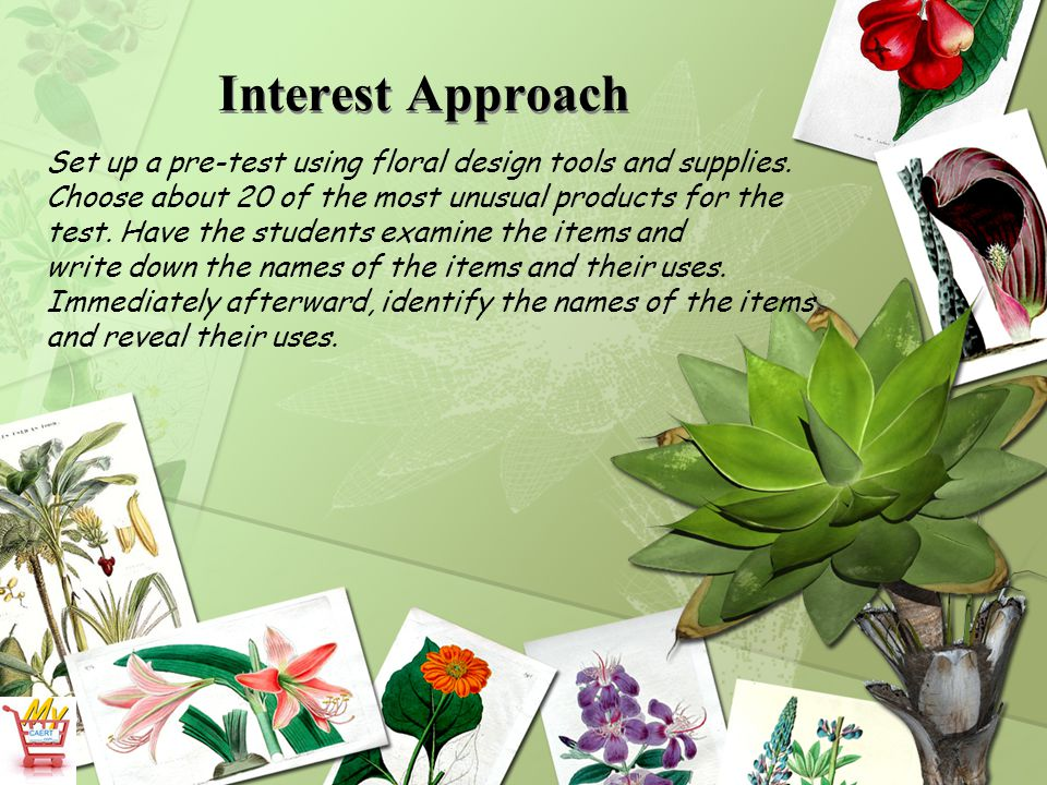 What cutting tools are used in floral design.b. Pruning shears cut thick and tough woody stems.
