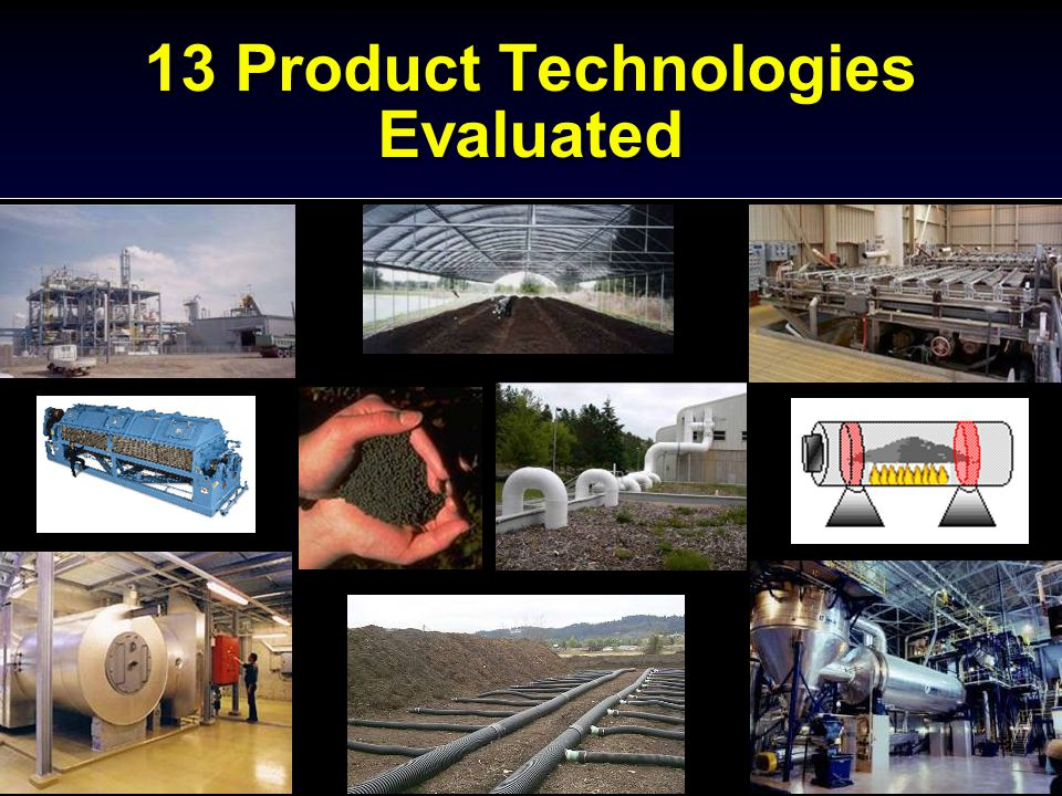 13 Product Technologies Evaluated