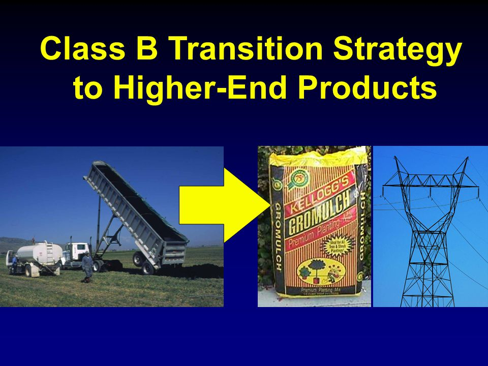 Class B Transition Strategy to Higher-End Products