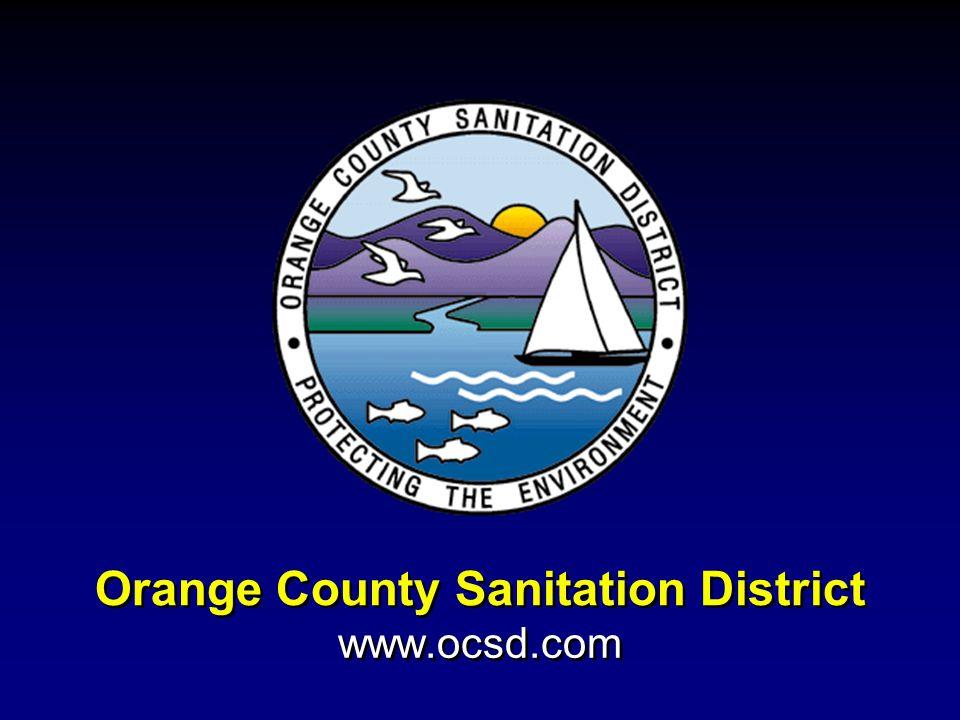 Orange County Sanitation District www.ocsd.com