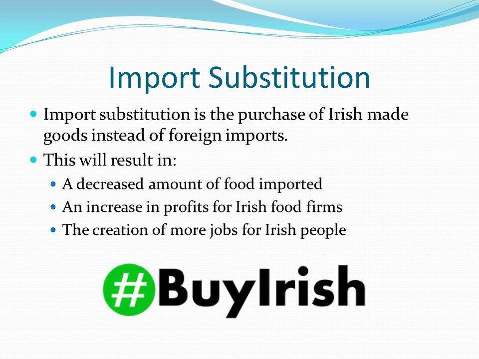 Irish Food Imports vs Exports 2014 (€ billion)