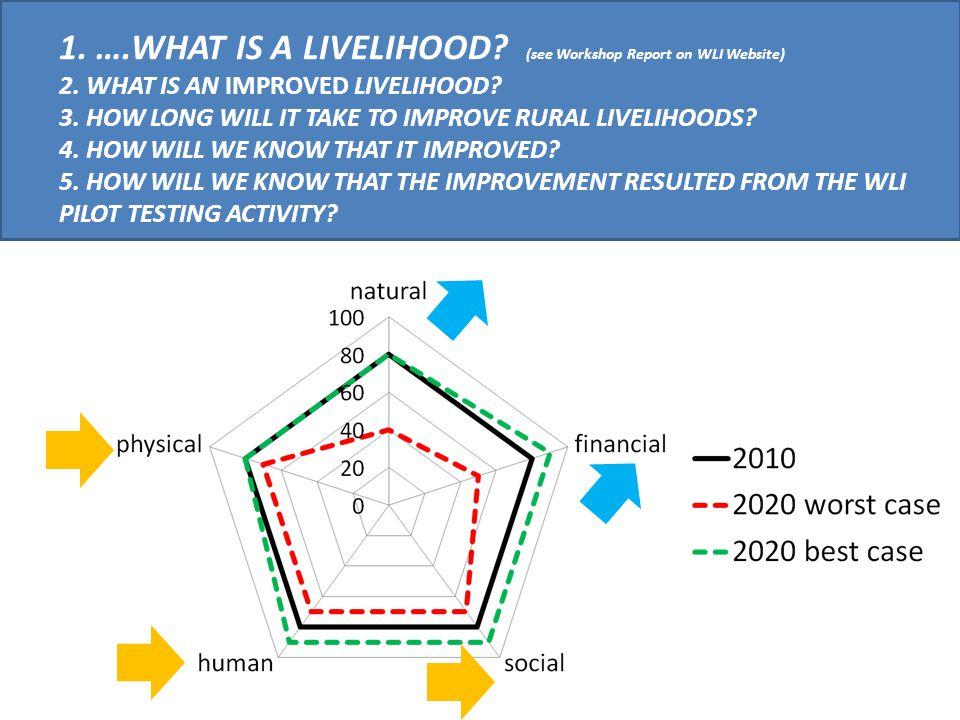 Pragmatic Indicators of Water & Livelihoods.