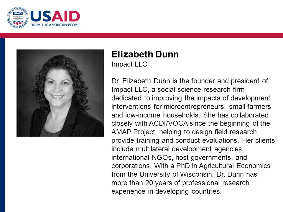Elizabeth Dunn Impact LLC Dr.
