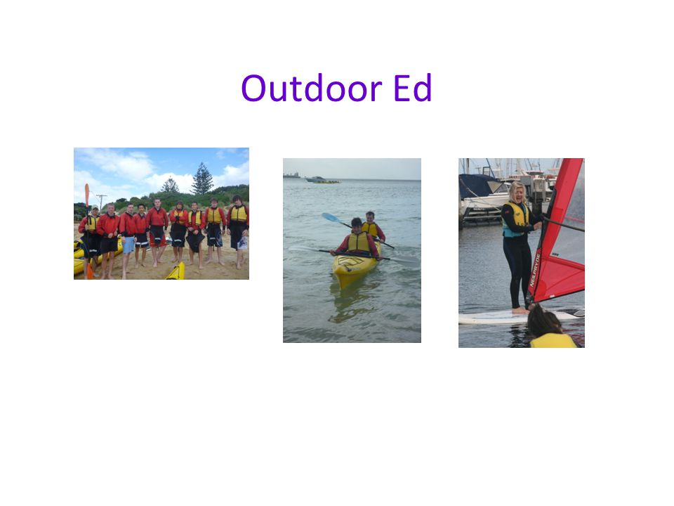 Outdoor Ed