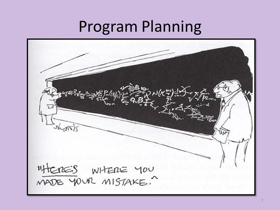 Program Planning 7