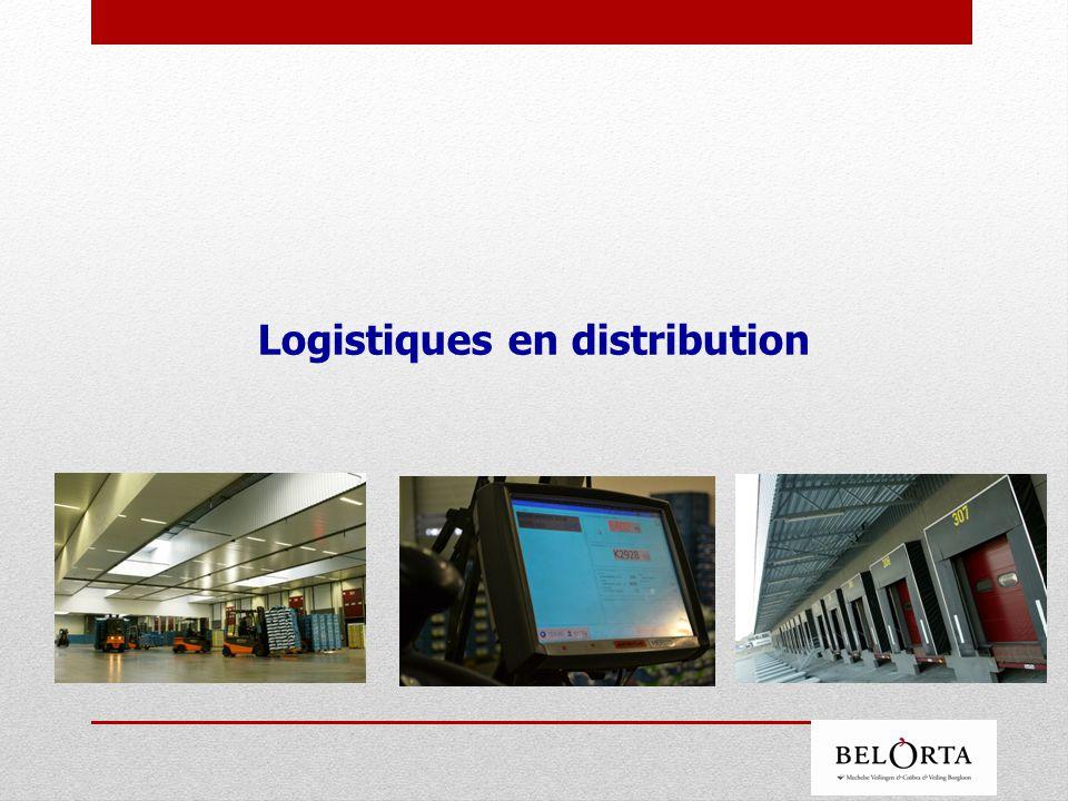 Logistiques en distribution