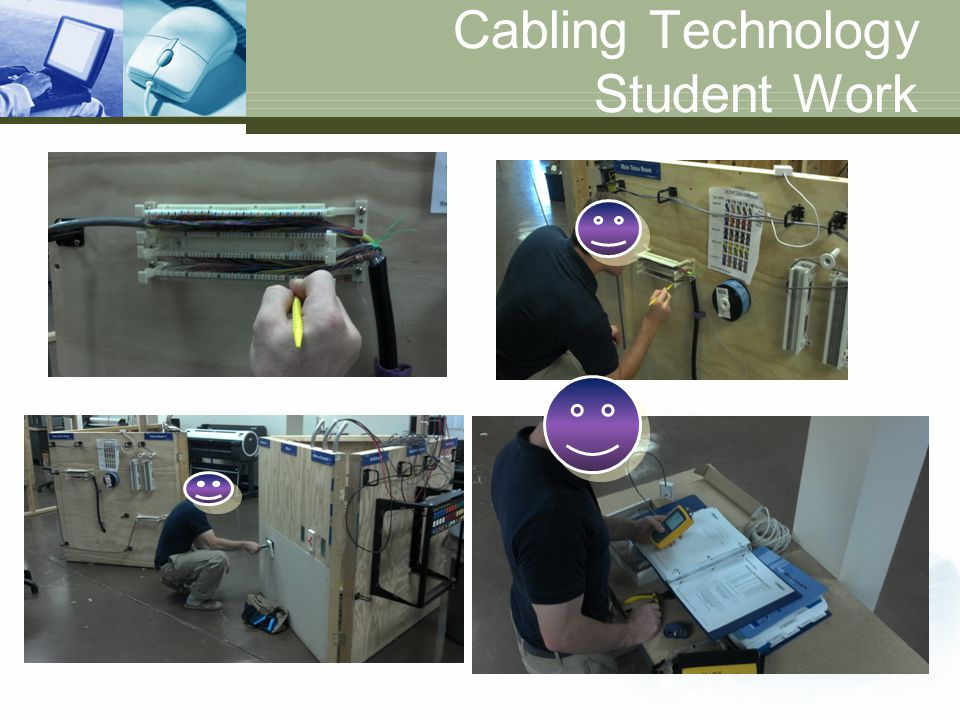 Cabling Technology Student Work
